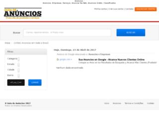 brindes.guiadeanuncios.com.br screenshot