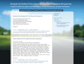 brindesportoalegre.blogspot.com.br screenshot