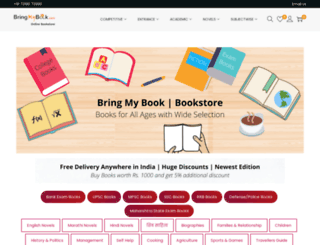 bringmybook.com screenshot