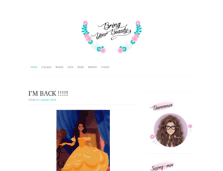 bringyourbeauty.wordpress.com screenshot