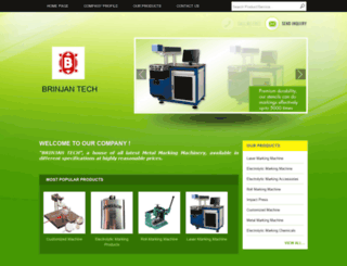 brinjantech.com screenshot