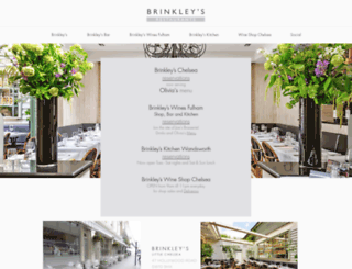brinkleys.com screenshot