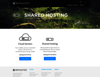 brinkster.com screenshot