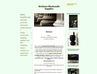 brisbaneblacksmithsupplies.com screenshot