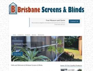 brisbaneblinds.com.au screenshot