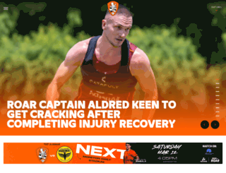 brisbaneroar.com.au screenshot
