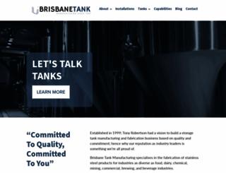 brisbanetanks.com.au screenshot
