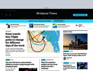 brisbanetimes.com.au screenshot