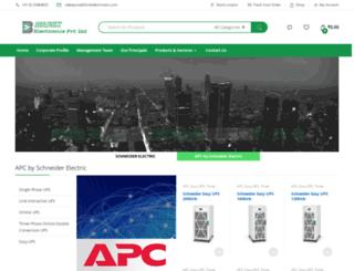 briskelectronics.com screenshot