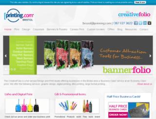 bristol-printing.com screenshot