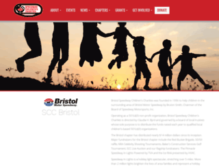 bristol.speedwaycharities.org screenshot