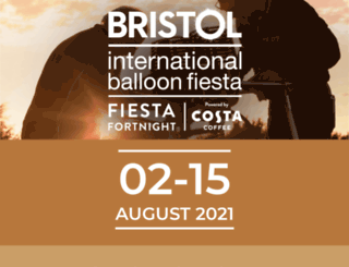 bristolballoonfiesta.co.uk screenshot
