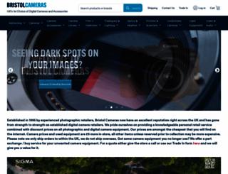 bristolcameras.co.uk screenshot