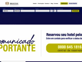 bristolhoteis.com.br screenshot
