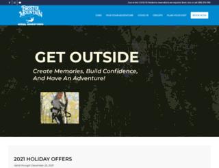 bristolmountainadventures.com screenshot