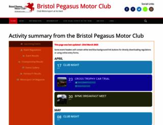 bristolpegasus.com screenshot