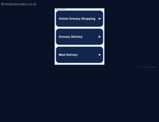 bristolpreservation.co.uk screenshot