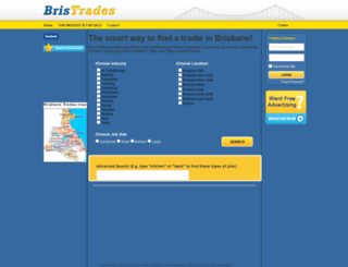 bristrades.com.au screenshot