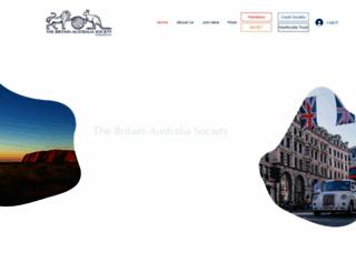 britain-australia.org.uk screenshot