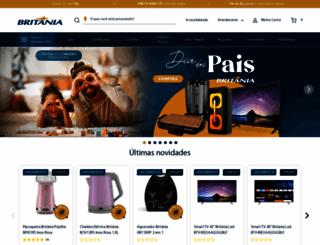 britania.com.br screenshot
