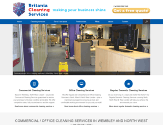 britaniacleaningservices.uk screenshot