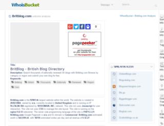 britblog.com.whoisbucket.com screenshot