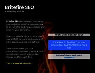britefire.co.za screenshot