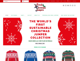 britishchristmasjumpers.com screenshot