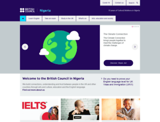 britishcouncil.org.ng screenshot