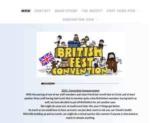 britishfest.weebly.com screenshot