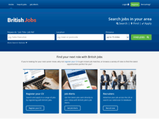 britishjobs.net screenshot