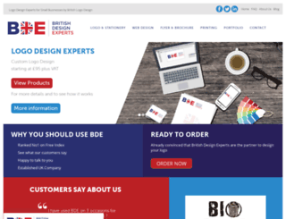 britishlogodesign.co.uk screenshot