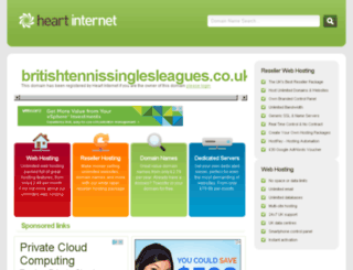 britishtennissinglesleagues.co.uk screenshot