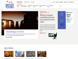 britishtours.com screenshot