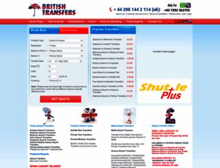 britishtransfers.com screenshot
