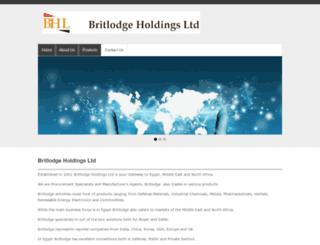 britlodge.com screenshot