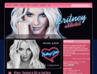 britney-addicted.com screenshot