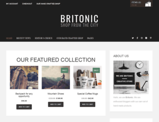 britonic.premiumcoding.com screenshot