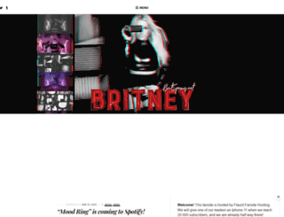 britspears.net screenshot