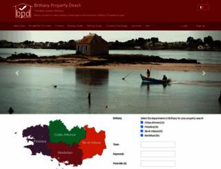 brittany-property-direct.com screenshot