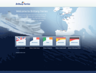 brittanyferries.com screenshot