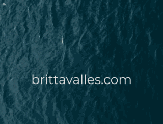 brittavalles.com screenshot