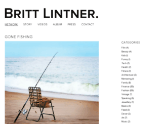 brittlintner.com screenshot
