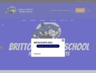 britton.mhusd.org screenshot