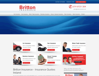 brittoninsurance.com screenshot