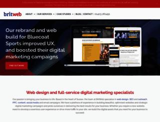 britweb.co.uk screenshot