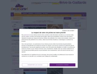 brive-la-gaillarde.onvasortir.com screenshot