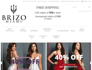 brizomiami.com screenshot