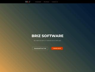 brizsoft.com screenshot