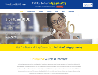 broadbandblue.com screenshot